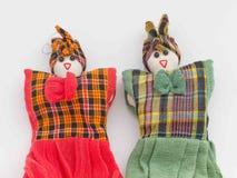 Zwei Puppen Stockfotografie