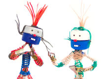 Zwei Puppen Lizenzfreie Stockfotos