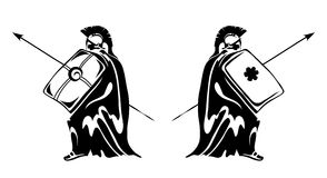 Zwei römisch Lizenzfreie Stockfotos