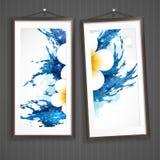 Zwei Rahmen Bild Stockbilder