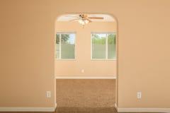 Zwei Raum-Ansicht mit Windows Stockbilder