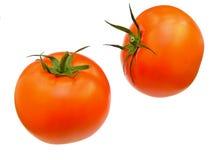 Zwei reife Tomaten Stockfoto
