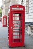 Zwei rote Telefonzellen, London Lizenzfreies Stockbild