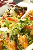Zwei Salate Stockfotografie