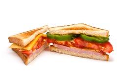 Zwei Sandwiche Lizenzfreies Stockfoto