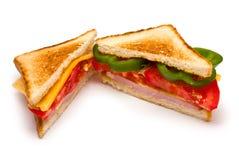 Zwei Sandwiche Lizenzfreie Stockfotos