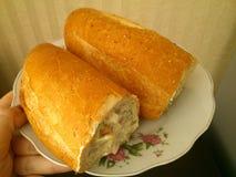 Zwei Sandwiche Stockfoto