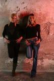 Zwei schöne Mädchen Lizenzfreies Stockbild