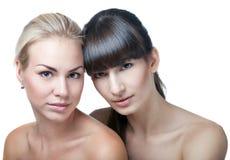 Zwei Schönheiten Lizenzfreies Stockfoto