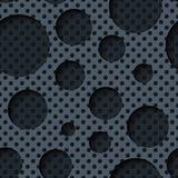 Zwei Schichtblechtafeln mit dunklem nahtlosem Hintergrund Lizenzfreie Stockfotografie