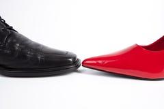 Zwei Schuhe Lizenzfreie Stockfotos