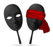 Aller wird den Gute der Maske um die Augen
