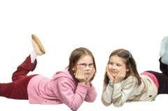 Zwei Schwestern Stockbilder