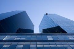 Zwei scyscrapers Lizenzfreie Stockfotografie