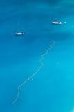 Zwei Segelboote lizenzfreie stockfotografie