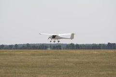 Zwei-Sitzflugzeug Stockfotos