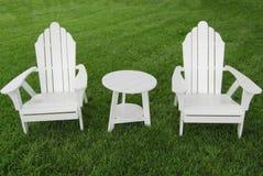 Zwei Stühle Stockbild