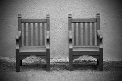 Zwei Stühle Stockfoto