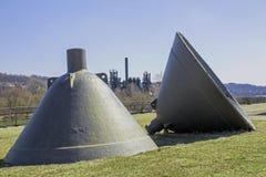 Zwei Stahlwerk Bell Lizenzfreie Stockfotos