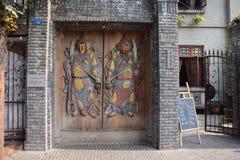 Zwei Tür-Götter lizenzfreies stockbild