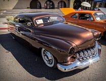 1951 zwei Tür Mercury-Limousine Stockfotografie