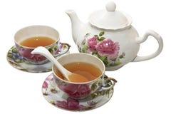 Zwei Tassen Tee Stockfotografie