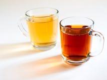 Zwei Tassen Tee Stockfotos