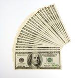 Zwei tausend fünfhundert Rechnungen Lizenzfreie Stockfotos