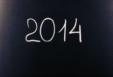 Zwei tausend vierzehn Jahre (2014) Stockfoto