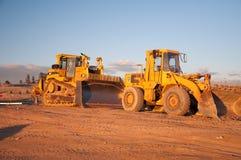 Zwei Traktoren Stockfotografie