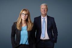 Zwei Unternehmensleiter Stockfotografie