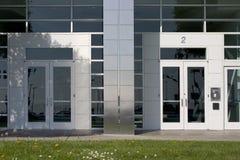Zwei Unternehmenstüren Lizenzfreies Stockfoto