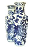 Zwei Vasen Stockfotos