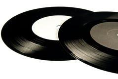 Zwei Vinyle Stockfoto
