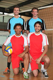 Zwei Volleyballteams Stockfoto