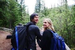 Zwei Wanderer Stockfotos