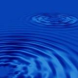 Zwei Wassertropfen Lizenzfreie Stockfotografie