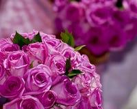 Zwei wedding Blumenblumensträuße Stockbild