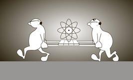 Zwei Wissenschaftler Stockfotografie