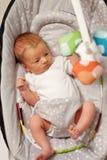 Zwei Wochen-altes neugeborenes Baby Stockfotos