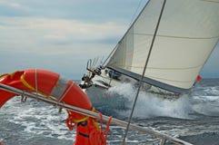 Zwei Yachten Lizenzfreie Stockbilder