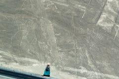 Zwei Zahlen Nazca Lizenzfreie Stockbilder