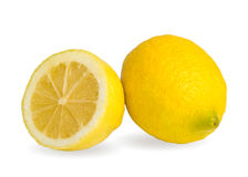 Zwei Zitronen Lizenzfreies Stockbild