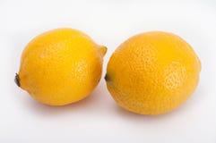 Zwei Zitronen stockbilder