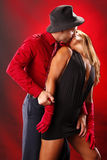 Zwei zum Tango Lizenzfreie Stockfotografie
