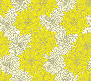 Zweifarbiger gelber nahtloser Hintergrund Stockfoto