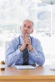 Zweifelhafter Doktor Lizenzfreie Stockbilder
