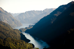 Zweifelhafter Ton - Neuseeland lizenzfreies stockbild