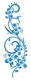 Zweig-mit-Blumen. Lizenzfreie Stockfotos
