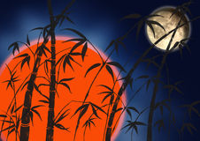 Zweige eines Bambusses vektor abbildung